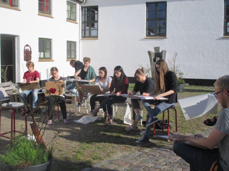 Kunst - billedværksted - Vrå højskole - 38