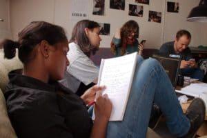 Sangskrivning på Vrå Højskole