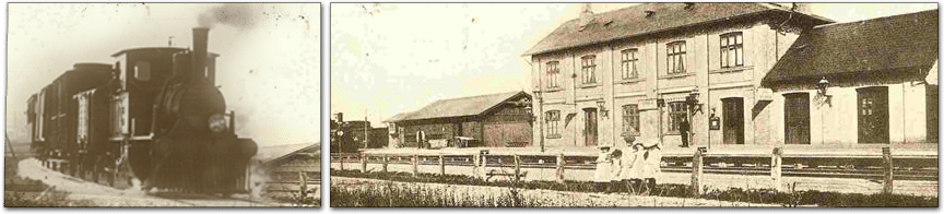 Stationen i Vrå