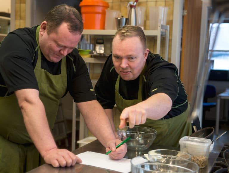 Køkkenpersonale