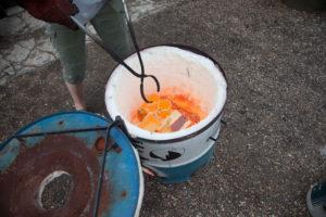 Keramik brænding af ler