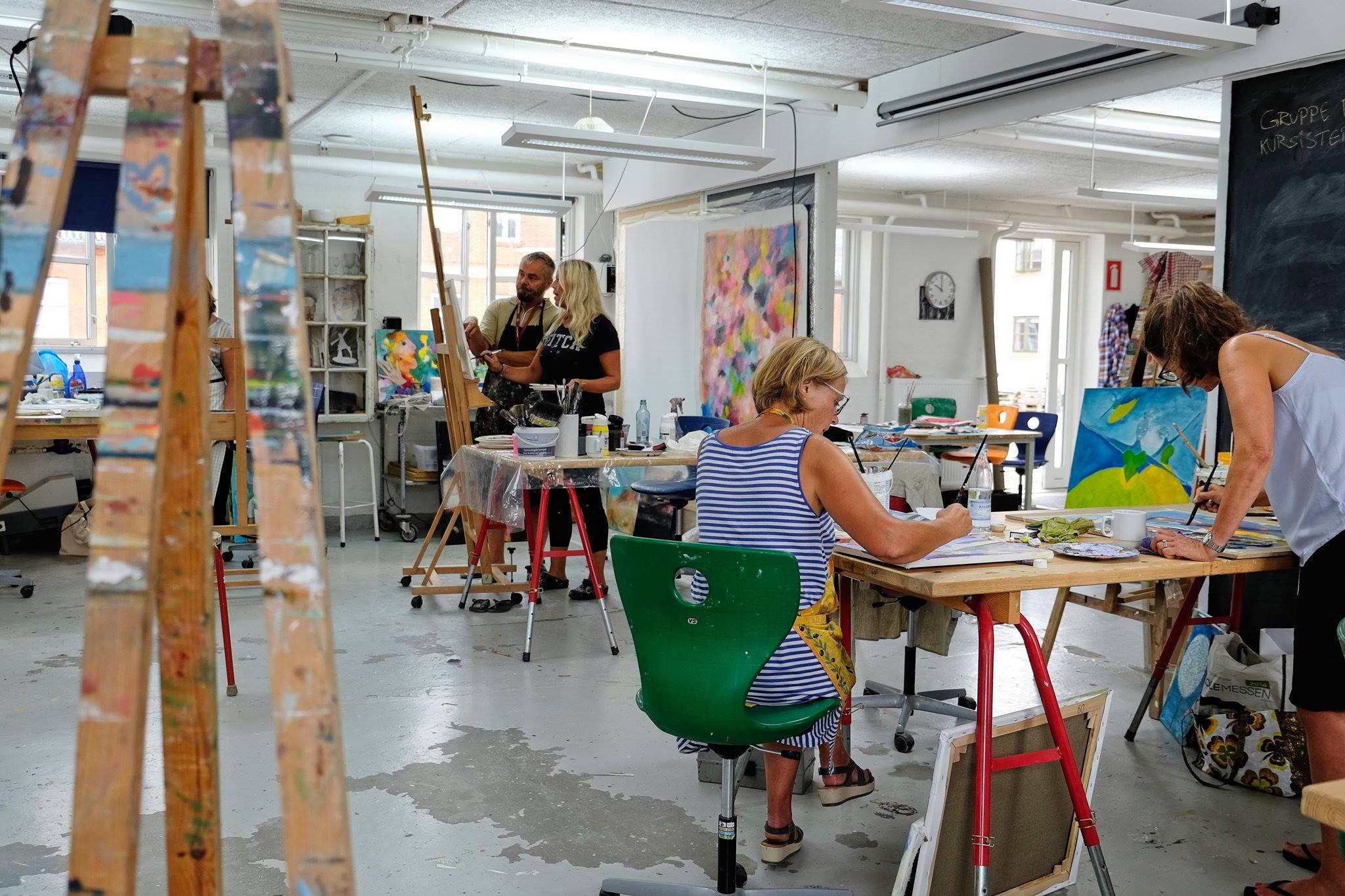 Kunst - Maleri - Olie - Akryl - Drama - Stemning