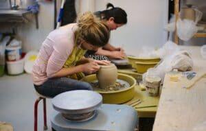 Lerdrejning og keramik