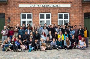 Holdet fra Forår 2019 på Vrå højskole