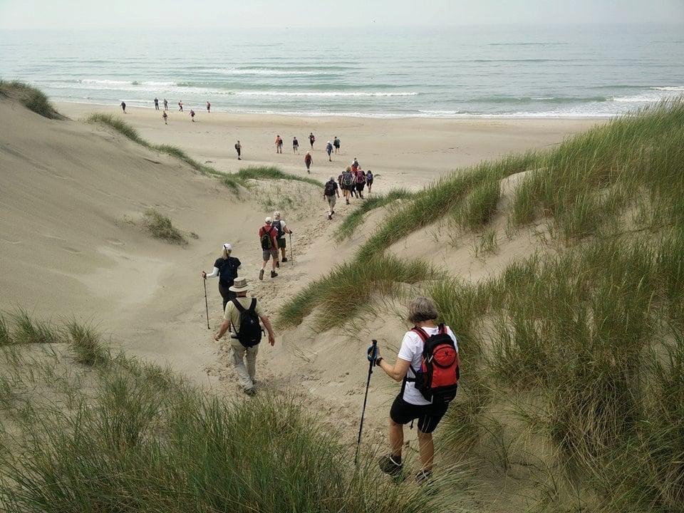 vandre kursus strand natur vrå højskole vandretur