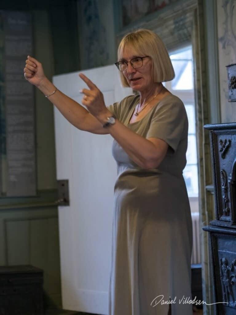 Esther Rützou - Nordisk Fortællerseminar