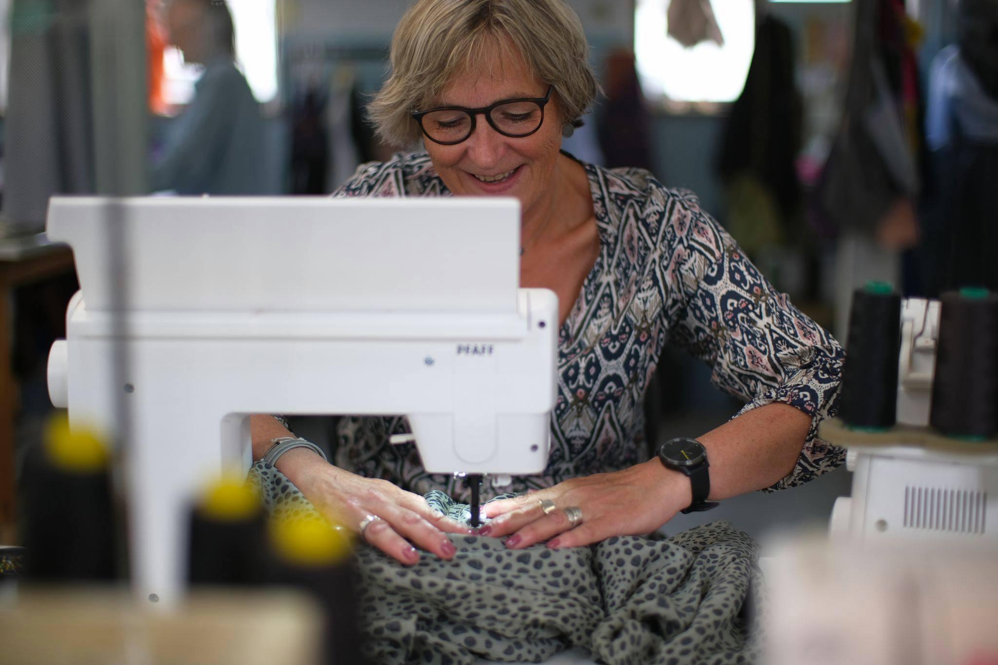 tekstil og sy kursus, det enkle snit