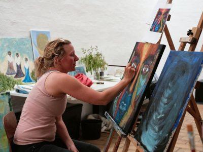 Kunst og maleri - oliemaling og akryl